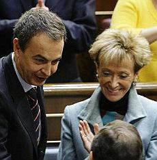 <B>Spagna, ecco il governo Zapatero<br>Nove donne e otto uomini</B>