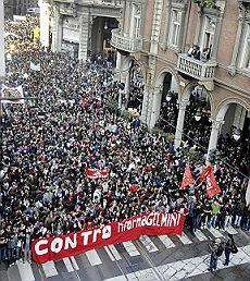 Università, precari e studenti insieme contro il governo