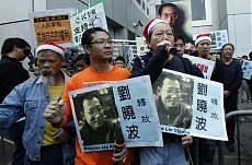 Cina, mano dura contro il dissenso condannato a 11 anni Liu Xiaobo