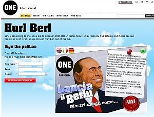 Aiuti all'Africa, Bono contro Berlusconi