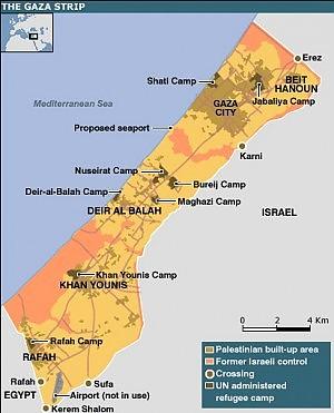 Israele allenta il blocco su Gaza Resta in vigore quello navale