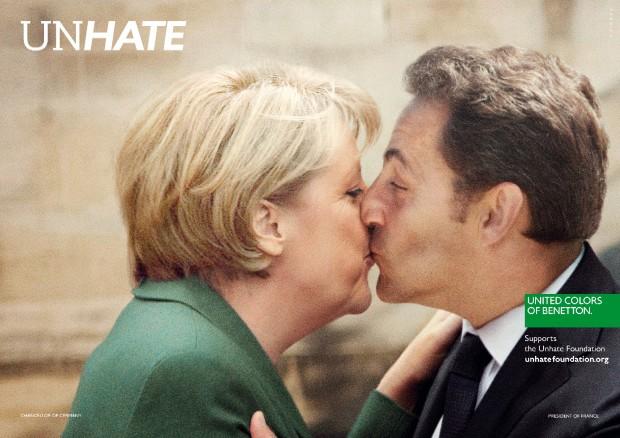 Il Papa e l'Imam: campagna shock di Benetton