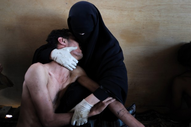 World press photo, vince la primavera araba fuori Bin Laden e #occupywallstreet