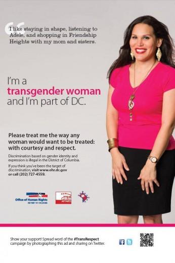 """""""Anch'io appartengo a questo Stato""""  La campagna               del rispetto transgender"""