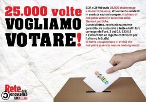 """Elezioni, Ue: """"Studenti Erasmus devono votare"""""""