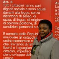 Cécile Kyenge, il primo ministro italiano di colore