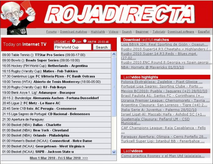 "Sequestrato il sito Rojadirecta Stop al calcio ""pirata"" in streaming"