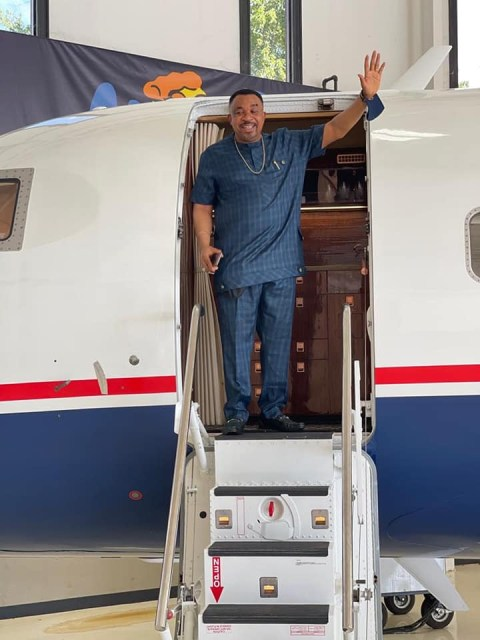 Pastor buys challenger private jet