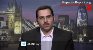 VIDEO: Bahraini Government Flack Dodges Question About Paying U.S. Lobbyists To Smear Protesters