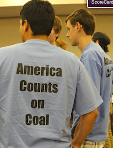 On Craigslist, Coal Lobby Offers  To People To Wear Pro-Coal T-Shirts At Regulatory Meeting