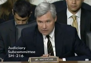Whitehouse At Senate Judiciary Hearing: If We Can Ask Soldiers To Go To Afghanistan, We Can Ask The Koch Brothers To 'Put Up With Some Impolite Blogging'