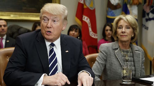 Who's Lobbying for For-Profit Colleges in the Trump-DeVos Era?