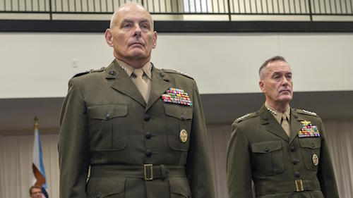 General Kelly, General Dunford Met the Press. One Was Better.