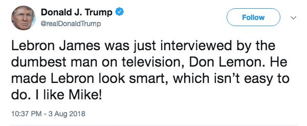 Trump Terrible 10: Crooked Vile Racist President Edition
