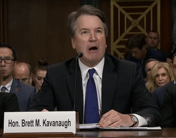 From Country Club Republican to #MAGA Bully: The Unmasking of Brett Kavanaugh