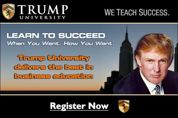 Scam America: We All Attend Trump University Now