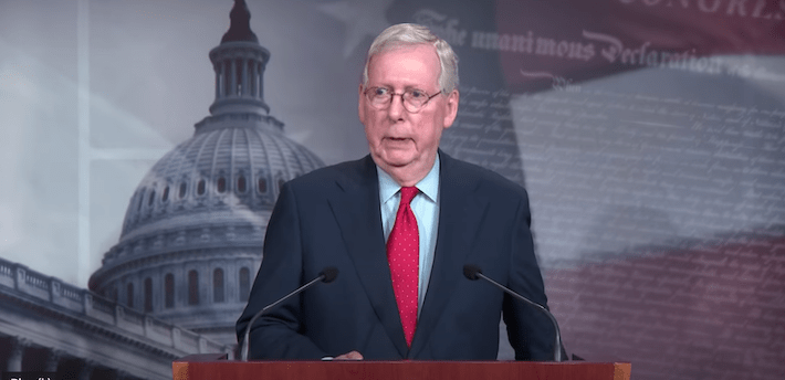 """VIDEO: Mitch McConnell """"truly the most corrupt politician in the U.S."""""""