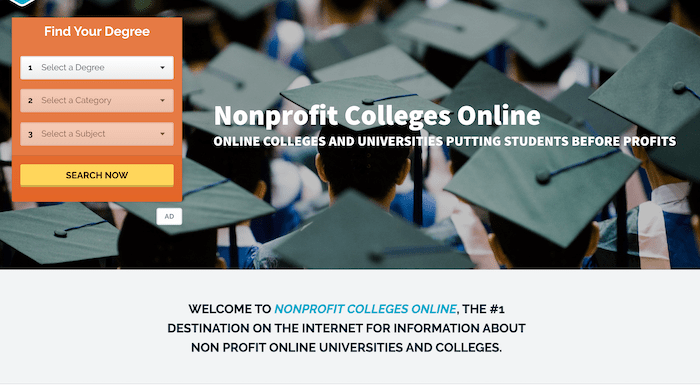Website Decries For-Profit Colleges And Also Markets Them