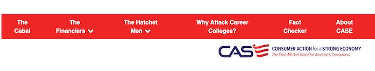 Falsehood-Filled Website On For-Profit Colleges Shuts Down