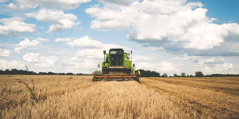 Tractor cosechadora