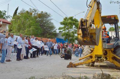 Detona Mauricio Kuri infraestructura en El Romeral