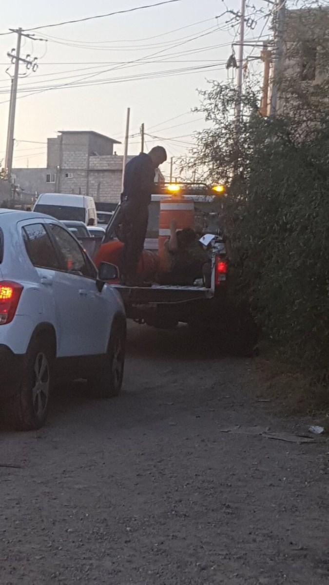 Ciudadanos detienen a ladron en Geo Plazas