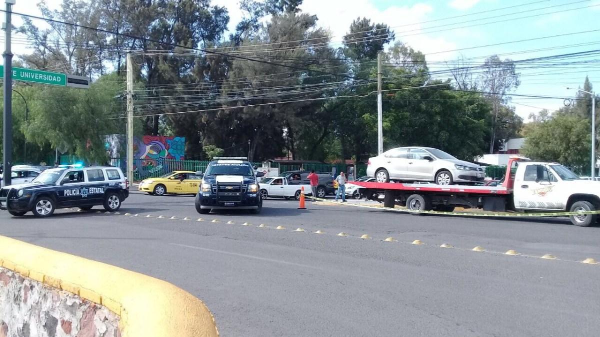 Altercado vial termina con una persona lesionada por arma de fuego