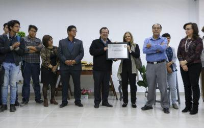 Facultad de Química  inaugura edificio y rinde homenaje al Rector