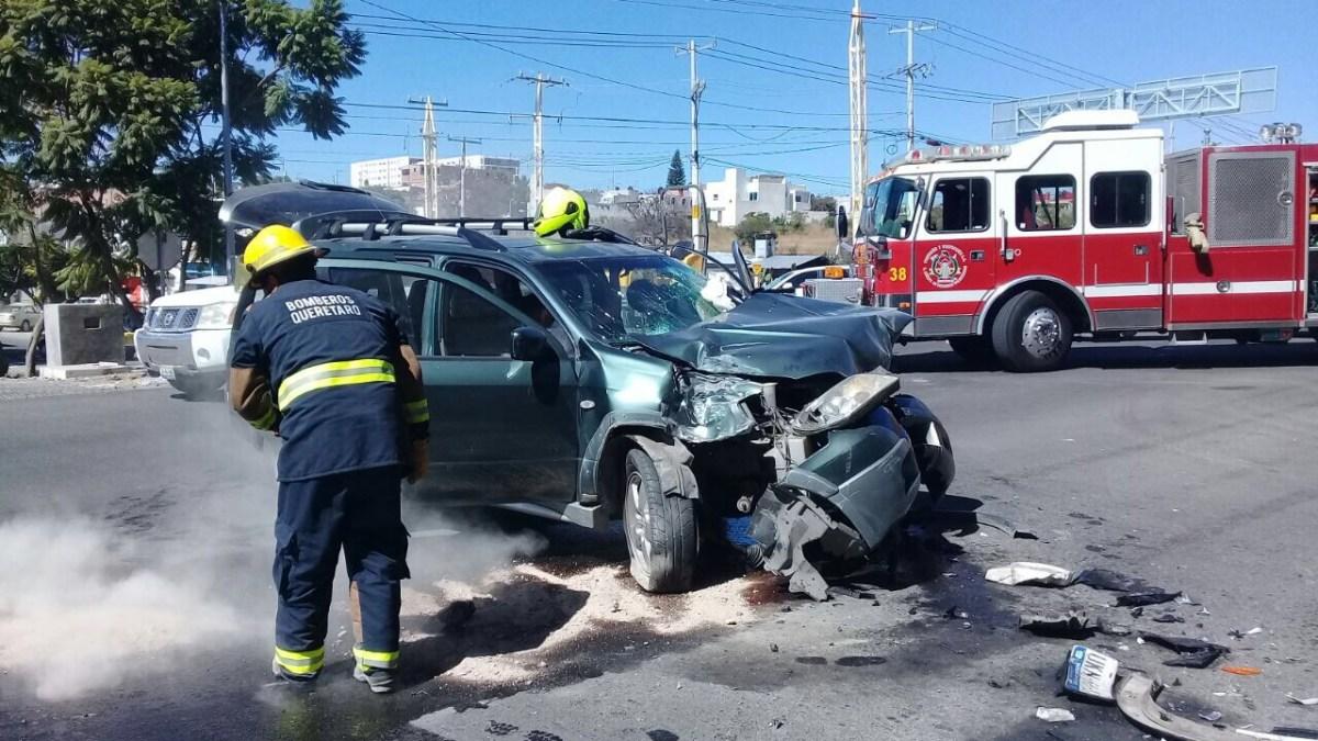 Accidente en Paseo de la República deja como saldo un lesionado