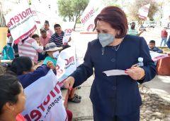 Celia Maya pide paro a militantes de otros partidos para que se sumen a su campaña