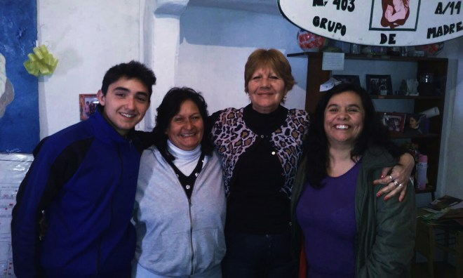 Ariel, Marcela, Vita y Norma