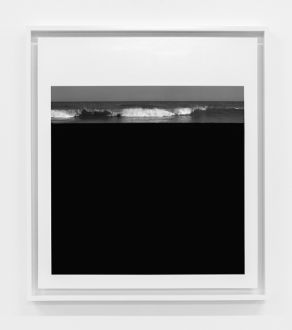 Clifford Ross' exhibition titled The Abstract Edge: Photographs, 1996-2001, ongoing at Ryan Lee Gallery