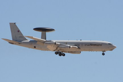 E-3A AWACS NATO