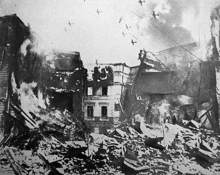 bombardamente anglo americane 1944 bucuresti