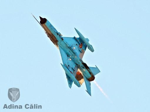 MiG-21 Lancer de la Campia Turzii