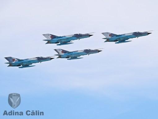 MiG-21 Lancer patrula de la Mihail Kogalniceanu