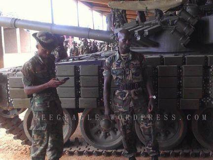 T-72AV în Nigeria