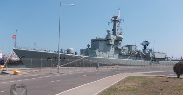 Fregata Dom Francisco de Almeida F-334, Portul Constanta - SEA SHIELD 2015