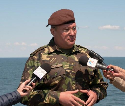Seful SMG, general locotenent Nicolae Ciuca