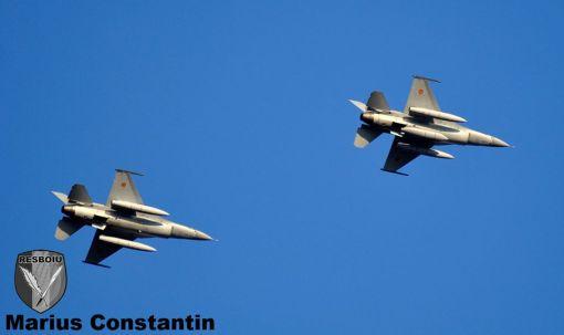 F-16 RoAF sosesc la Baza Aeriana 86