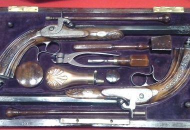 Pistoale de duel - Colecţia MMN