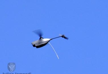 "Noble Jump 17, mini drona ""Pârâcioasa"""