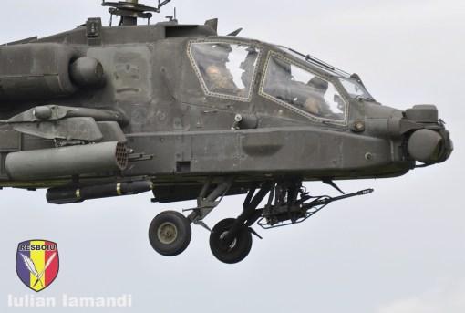 Boeing AH-64 Apache, Saber Guardian 2017, poligonul Cincu