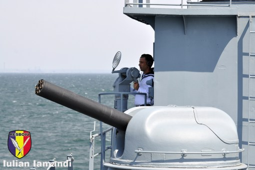 Tun AK-630 Fregata 111 Marasesti