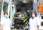 Col. (Rz.) Preda Maria - medic primar epidemiolog și Col. (Rz.) Belcineanu Daniela
