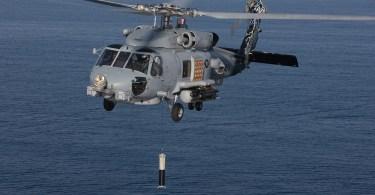 Sonar trempé ALFS embarqué sur hélicoptère MH-60R