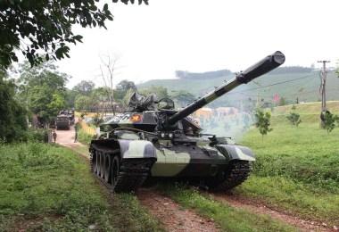 Tanc vietnamez T-54M3
