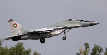 MiG-29 aparținând Bulgariei