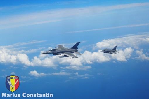 Avioane F-16 aparținând Forțelor Aeriene ale Greciei