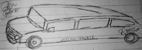 mECHsCINOVATE, A long Car.